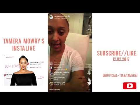 Tamera Mowry   Instagram Live!!