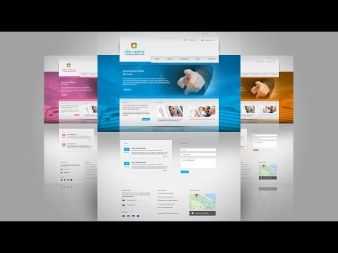 Create A Business Web Design In Photoshop