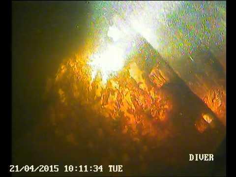 ESB West Offaly Power - Diving Scope - Shannonbridge  FP & JP Flanges & Brackets