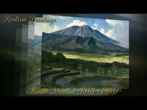 Basuki Abdullah - An Indonesian painter - Realism Paintings