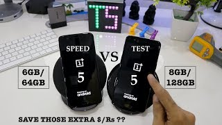 OnePlus 5 (6GB) VS OnePlus 5 (8GB) ULTIMATE SPEED TEST