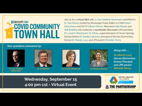 Mississippi Today's COVID Community Town Hall