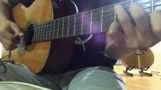 Chờ anh nhé (Trung Quân Idol ) - guitar cover