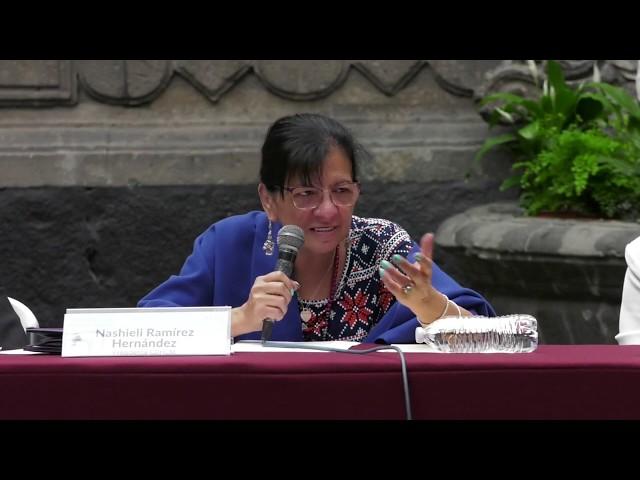 Discurso de la Presidenta de #CDHCM, Nashieli Ramírez, en Jornada Derechos de la Infancia