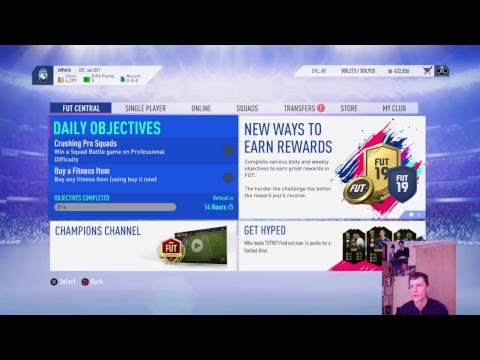 FIFA 19 RELEASED!! 12K POINTS PACK OPENING!!! (FIFA 19) (LIVE STREAM)