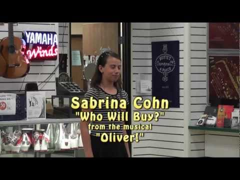 "Sabrina Cohn sings ""Who Will Buy?"" from the musical ""Oliver!"""