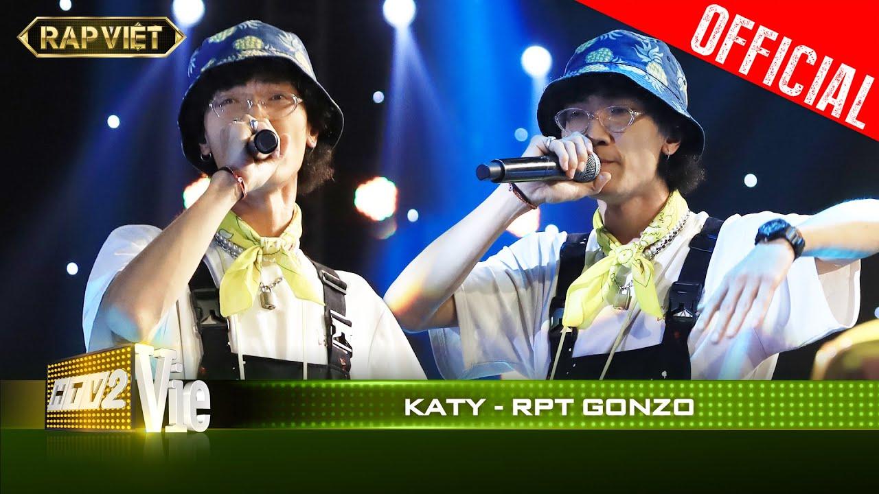 Lam Trường sẽ không ngờ hit Katy Katy của mình lại được Gonzo rap như này đây| RAP VIỆT [Live Stage]