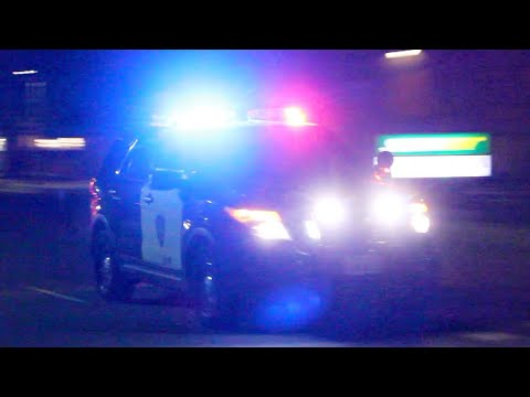 TONS Of Police Cars Responding To A URGENT Call! (Code 3)