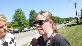 Raw: Mother of 2 Noblesville West Middle School students reacts to Friday's shooting