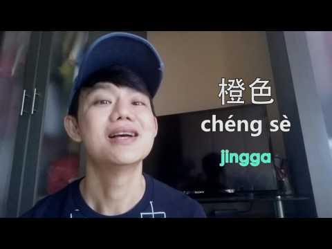 Belajar Bahasa Mandarin dengan cepat 03 [ 颜色 Warna ]~ Osver Channel