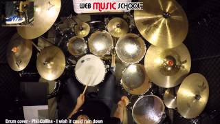 Phil Collins - I wish it would rain down - DRUM COVER