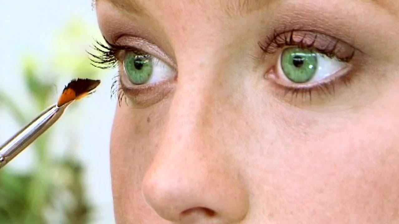 eye makeup tutorial for green eyes