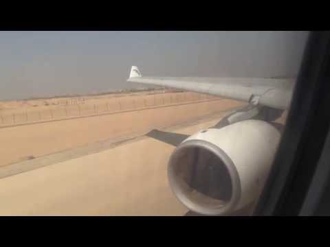 EgyptAir A330-300 Pushback & Takeoff from Cairo Airport to Dubai Airport