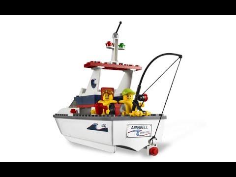 lego city le bateau de pche jouet pour enfants