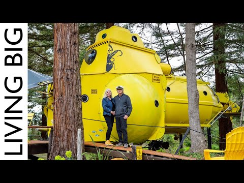 This Tiny House Is Actually A Submarine!