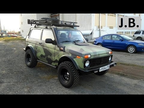 tuning of lada 4x4 niva ranger style youtube. Black Bedroom Furniture Sets. Home Design Ideas