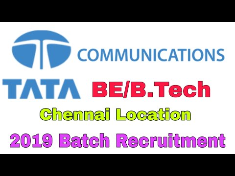 Tata Communication Recruitment ||  2019 Latest Job Notification || Private Jobs
