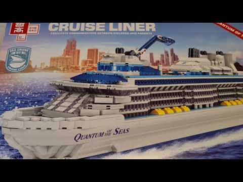 Quantum of the Seas/ Zhe Gao/ Let's build a cruise ship