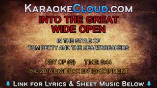 Tom Petty And The Heartbreakers - Into The Great Wide Open (Backing Track)