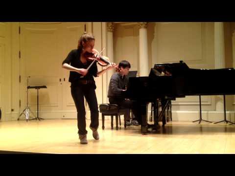 Maurice Ravel - Tzigane [Elissa Cassini, May 8th 2013]