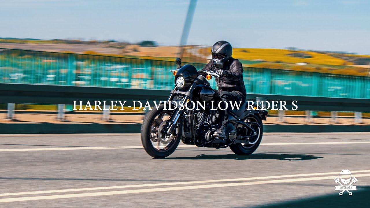 Harley-Davidson Low Rider S - Prawdziwy Gangus z benzyny i stali.