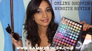 Online Shopping Website Review WWW.SAMMYDRESS.COM II Indian Beauty Guru