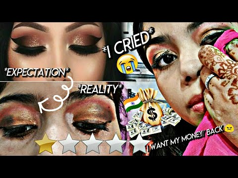 I WENT TO THE WORST REVIEWED MAKEUP ARTIST IN *india* !!