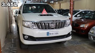 SUV/MUV - Buy Used Cars Second Hand Bangalore Toyota Fortuner,Innova,Qualis,Honda CRV