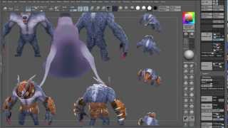 Zbrush for Low-Poly Texturing 01