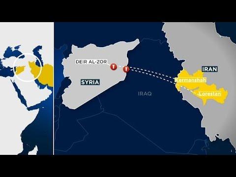 İran Doğu Suriye'yi vurdu
