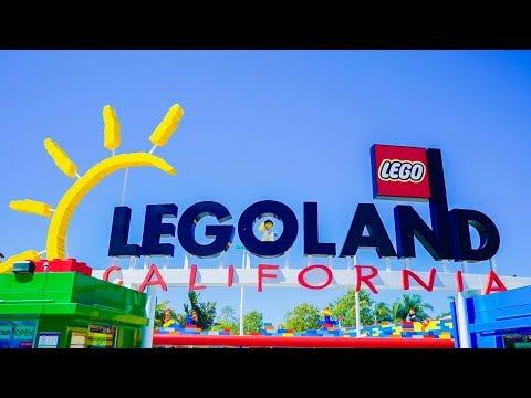 FIRST TIME AT LEGOLAND CALIFORNIA | VLOG