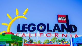 FIRST TIME AT LEGOLAND CALIFORNIA | VLOG
