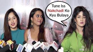 Avneet Kaur Ignores Jannat Zubair At Reem Shaikh Movie Gulmakai Screening