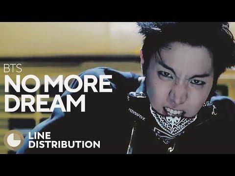 BTS - No More Dream (Line Distribution)