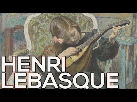 Henri Lebasque: A collection of 629 paintings (HD)
