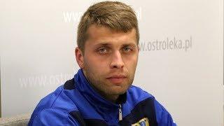 Piotr Dutkiewicz (Mazur Gostynin) o meczu z Koroną Ostrołęka