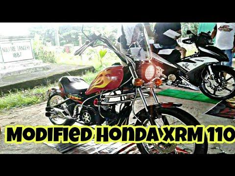 Modified Honda XRM 110 Into Custom Chopper By SSM Motorcycle