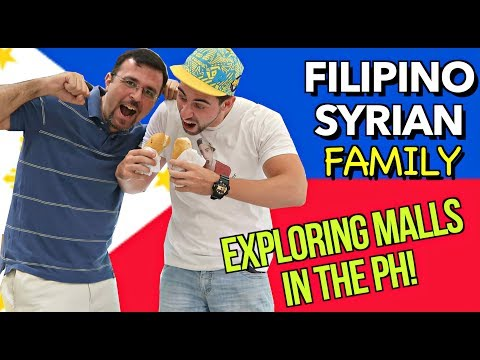 Meeting my SYRIAN Friend in the PHILIPPINES! 🇵🇭| SM Molino CAVITE