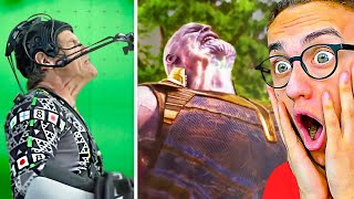 Reacting To BEFORE & AFTER SUPERHERO SPECIAL EFFECTS!