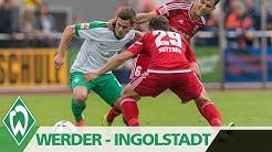 Bartels' Präzision: SV Werder - FC Ingolstadt I Highlights Testspiel