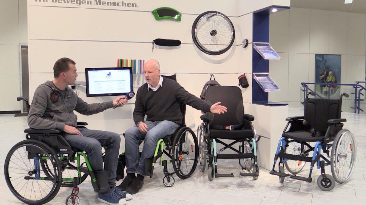 Rollstuhl kaufen MEYRA - YouTube