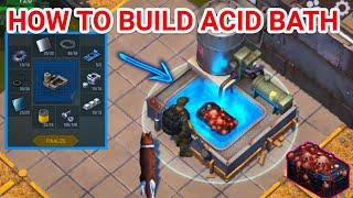 HOW TO BUILD ACID BATH! Last Day On Earth Survival