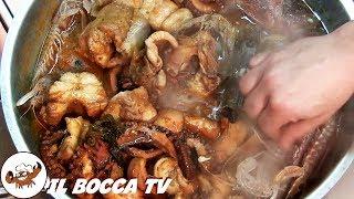 3 - Il vero Cacciucco alla livornese..l'appetito mi riprese! (piatto unico di pesce original recipe)