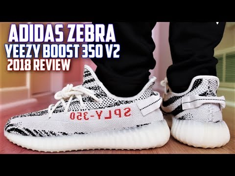 f4711a3a97a1a Adidas Yeezy Boost 350 v2 Zebra REVIEW and ON FEET (2018 ...