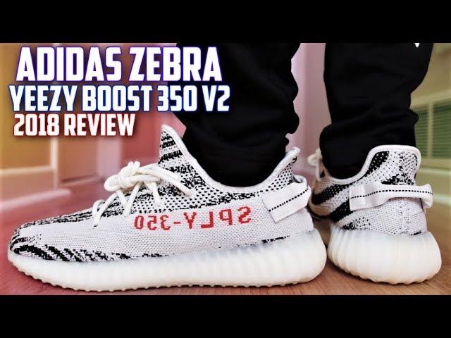 Adidas Yeezy Boost 350 v2 Zebra REVIEW