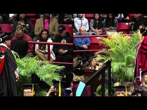 Northeastern University Graduate Commencement 2015