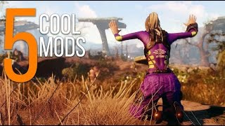 5 Cool Mods - Episode 21 - Fallout 4 Mods (PC/Xbox One)
