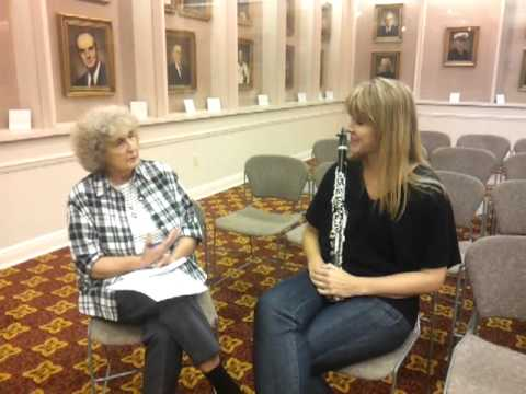 Sabine Grofmeier Interview with the Troy Messenger