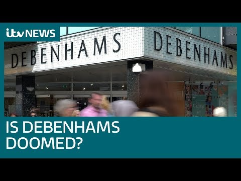 Debenhams store closures put 1,200 jobs under threat | ITV News