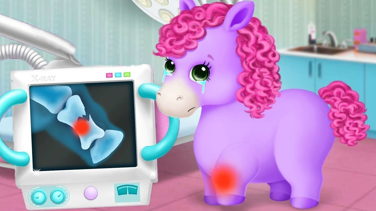 Pony Sisters Pet Hospital – Let's Take Care Of The Cute Animals – Fun Kids Games By TutoTOONS
